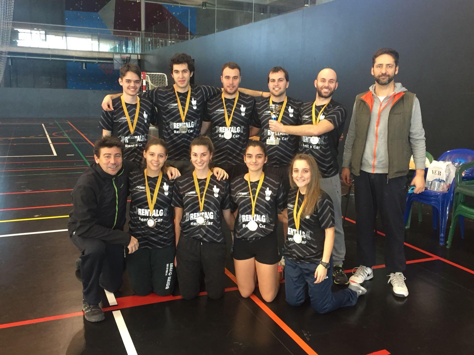 Equipo de Bádminton Lleida 2017-2018