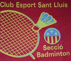 Badminton Club Esport Sant Lluís Logo